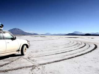By 4x4 shared service discovery of South Lipez and return to Uyuni then night bus to La Paz.