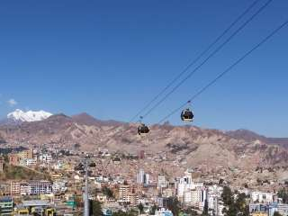 Free day in La Paz and night bus to Uyuni
