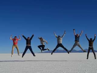 The wonderful Salar d'Uyuni